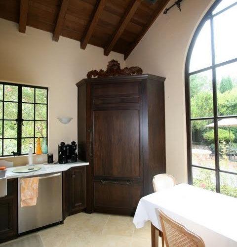 Corner Refrigerator Home Design Ideas Pictures Remodel