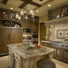 Mediterranean Kitchen by Gina Spiller Design