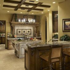 Mediterranean Kitchen by Gina Spiller Design