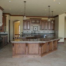 Mediterranean Kitchen by Sterling Builders