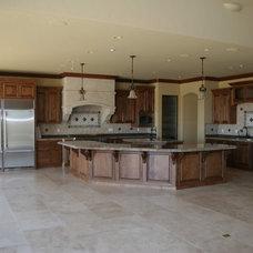 Mediterranean Kitchen by Sterling Builders