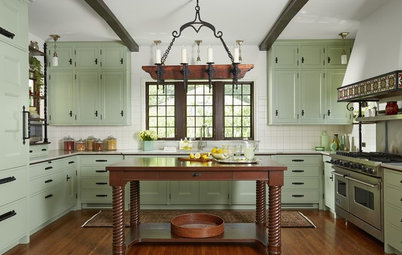 Kitchen of the Week: History Rebuilt After a Devastating Fire