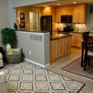 Medium Size kitchen and Morning Room
