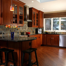 Transitional Kitchen by Normandy Remodeling