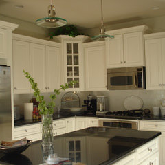 traditional kitchen by Megan Smythe Design