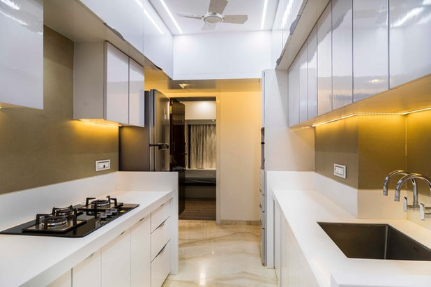 Contemporary Kitchen by SonamJhavarDesign