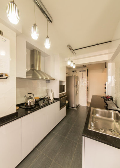 3 Room Hdb Kitchen: 5 3-room HDB Flats With Space-Maximising Designs