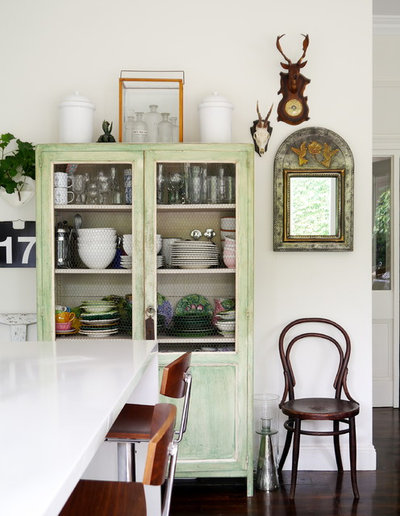 Eclectic Kitchen by Kate Hansen Photography