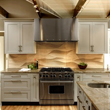 Transitional Kitchen by Jennifer Gilmer Kitchen & Bath