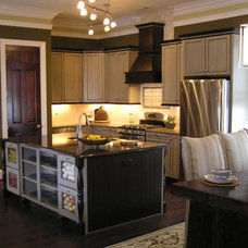 Eclectic Kitchen by Kitchen & Bath Environments