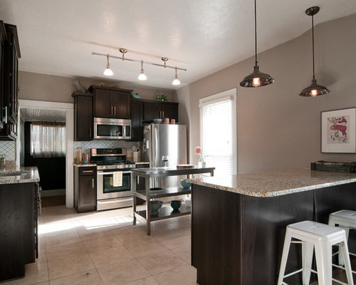 Taupe Kitchen Home Design Ideas Renovations Amp Photos
