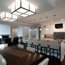 Contemporary Kitchen by kevin akey -azd architects - florida