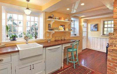 Kitchen of the Week: Uncovering History in an 1800s Colonial