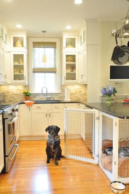 Transitional Kitchen by Betsy Bassett interiors