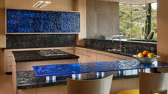 Meltdown Glass Scottsdale Kitchen