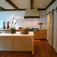 Contemporary Kitchen by Virginia W. Kelsey, AIA