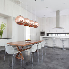 Contemporary Kitchen by Laura U, Inc.