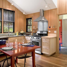Rustic Kitchen by Cathy Schwabe Architecture
