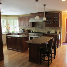 Traditional Kitchen by Cabinet Gallery LTD