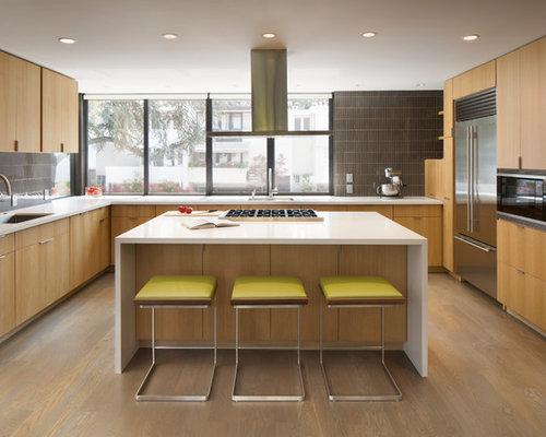 Kitchen Backsplash Glass Tile Design Ideas