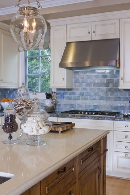 Traditional Kitchen by Erik Waldorf Interior Design