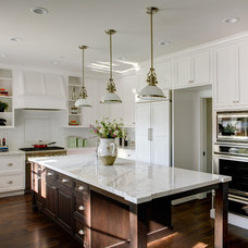 Traditional Kitchen by Allwood Construction Inc