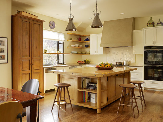 Transitional Kitchen by Moroso Construction
