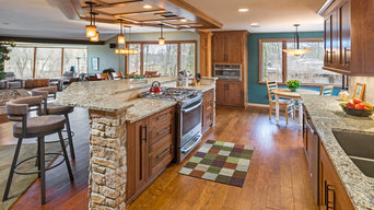 Mequon Open Concept Kitchen Remodel - Russell Barr Williamson