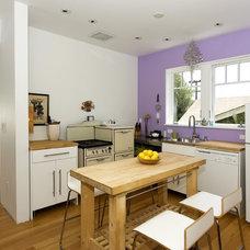 Contemporary Kitchen by Mercedes Corbell Design + Architecture