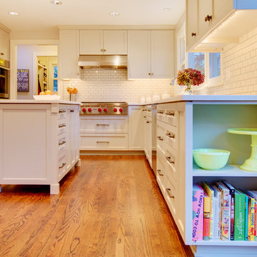 Mercer Island Kitchen Cabinets & Shelves