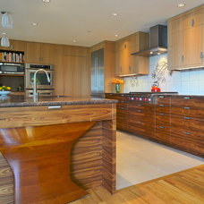 Contemporary Kitchen by Faith Sheridan