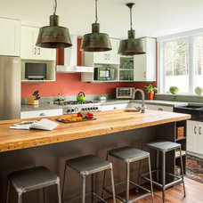 Contemporary Kitchen by Whitten Architects