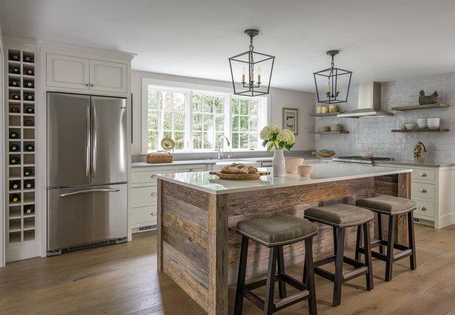 Farmhouse Kitchen by Jewett Farms + Co.