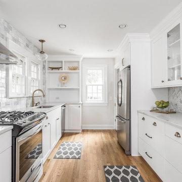 Meridian Kessler Bungalow | Transitional Kitchen Renovation