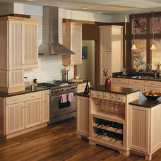 Traditional Kitchen by CLUSS OC LUMBER