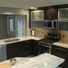Contemporary Kitchen by Curtis Lumber Ballston Spa