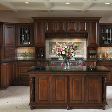 Traditional Kitchen by Cabinetry by Cales, Inc