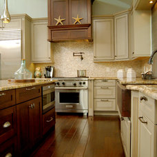 Transitional Kitchen by East Coast Cabinet Company
