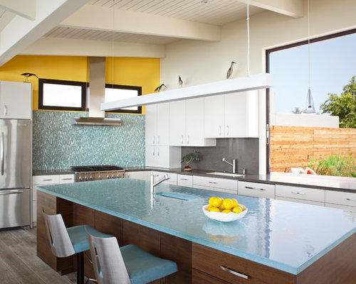 Glass Countertops For Kitchens
