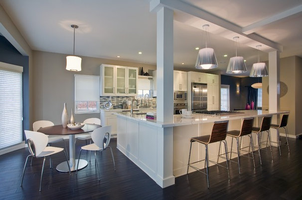 Contemporary Kitchen by Jessica Risko Smith Interior Design