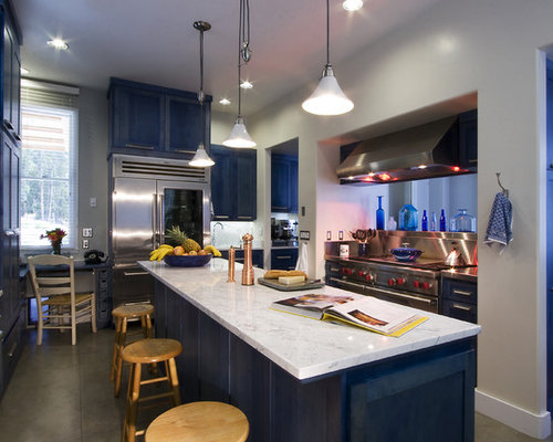 Blue Cabinets Ideas, Pictures, Remodel and Decor
