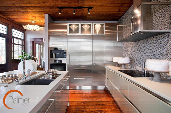 Contemporary Kitchen by Palmer Todd