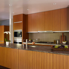 Modern Kitchen by Ingrained Wood Studios: The Lab