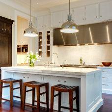 Transitional Kitchen by Soucie Horner, Ltd.