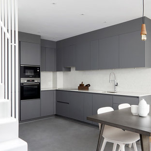 75 Most Popular Grey Kitchen Design Ideas For 2019 Stylish Grey