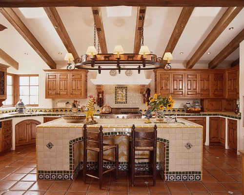 Mexican hacienda home design ideas pictures remodel and for David james kitchen designs