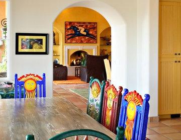 Mexican Villa Kitchen Table