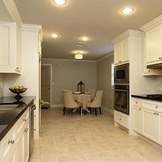 Transitional Kitchen by Jamie House Design