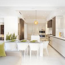 Contemporary Kitchen by DKOR Interiors Inc.- Interior Designers Miami, FL