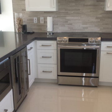 Miami Springs Interior remodeling, new Kitchen and powder room